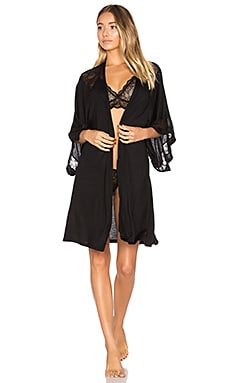Adeline Robe in Black