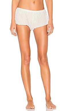 Paz Side Tie Shorts in White