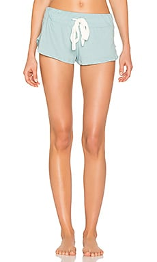 Heather Shorts in Washed Denim