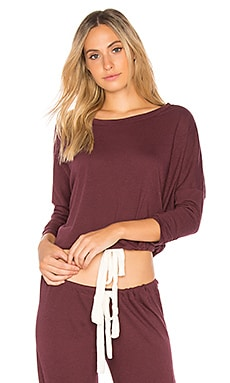 Heather Slouchy Tee