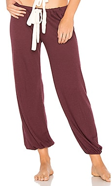 Heather Cropped Pant