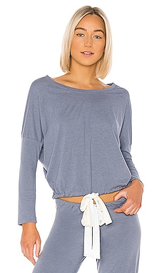 TOP MANCHES LONGUES HEATHER eberjey $69