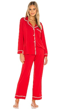Gisele Boxed Long PJ Set eberjey $120