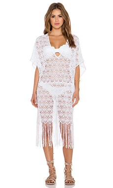 eberjey Freya Cover Up in White