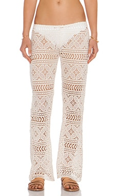 eberjey Beach Comber Marley Pant in Natural
