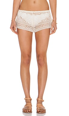 eberjey Beach Comber Sam Shorts in Natural