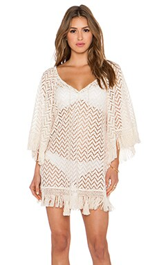 eberjey Libertine Giana Cover Up in Natural
