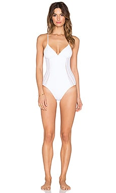 eberjey Crystal Valley Nadine One Piece in White