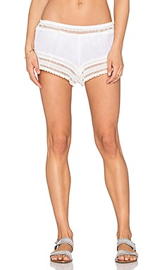 eberjey Love Shack Aster Short In White
