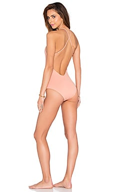 eberjey So Solid Mason One Piece in Sedona Blush