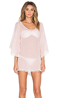 eberjey Mystic Waters Clara Cover Up in Sedona Blush
