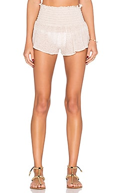 Sand Waves Meadow Short en Quartz Glow
