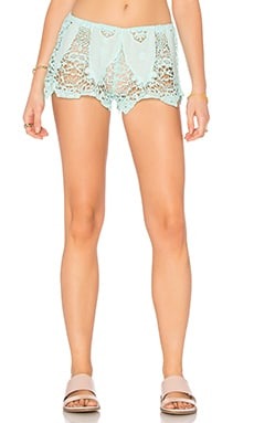 eberjey Spirit Dancer Sam Shorts in Aqua Splash