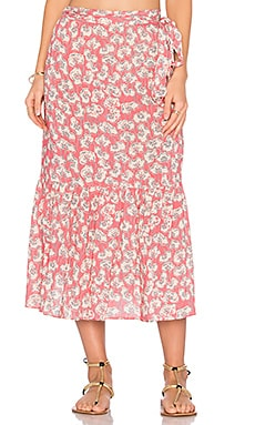 Flor Roza Skirt in Hibiscus