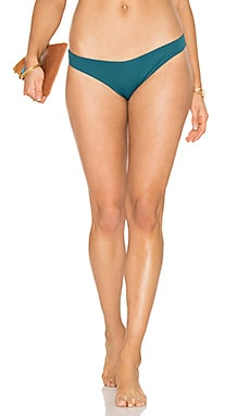 So Solid Annia Bikini Bottom in Palma Green