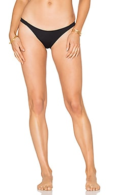 So Solid Piper Bikini Bottom en Noir