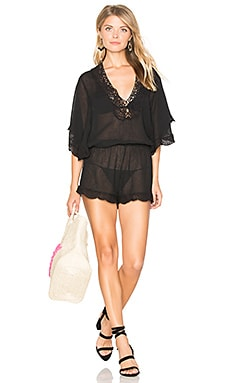 So Liberty Romper in Black