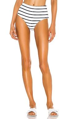 Retro Stripes Dita Bikini Bottom eberjey $118 NEW ARRIVAL