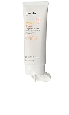 OH MY BOD! Antioxidant Infused Dry Touch Sunscreen Everyday for Every Body $25