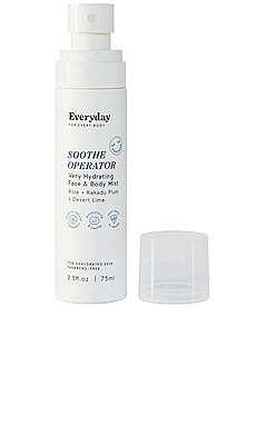 SOOTHE OPERATOR Very Hydrating Face & Body Mist Everyday for Every Body $18