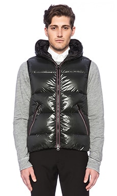 ECOALF Lake City Down Vest in Deep Forest