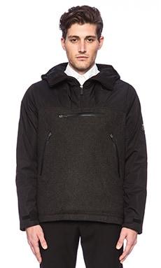 ECOALF Zermatt Jacket in Black/ Wool
