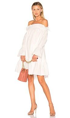 Off Shoulder Smocked Dress