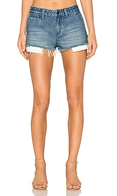 Denim Shorts in Light Wash