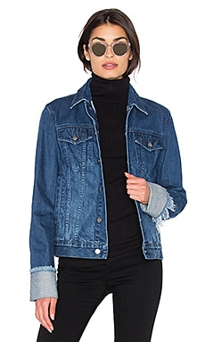 Turn Up Sleeve Jacket