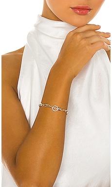 14KY Jumbo Diamond Toggle Bracelet EF COLLECTION $1,250 Collections