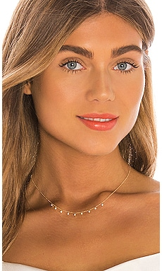 14k Diamond Bezel & Pearl Necklace EF COLLECTION $975