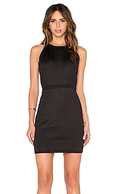 Column Back Dress in Black