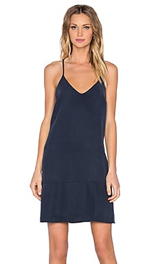 Mini Shift Dress in Navy Blue