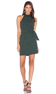 EGREY Sleeveless Shift Dress in Green