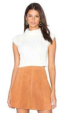 Anna Crop Sleeveless Sweater