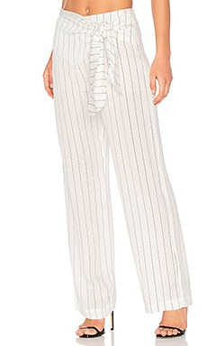 Wide Leg Pants in Stripes PB