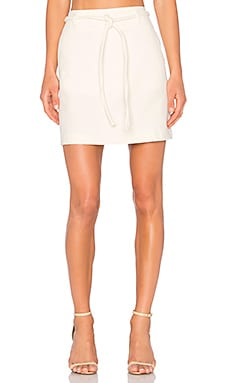 Knot Skirt in Off White