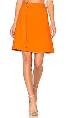 Mini Skirt in Orange
