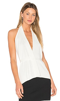 Plunge Neck Halter Top