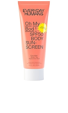 Oh My Bod! SPF 50 Body Sunscreen Everyday Humans $18