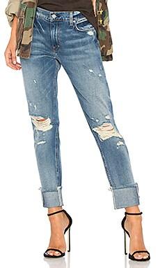 Cuffed Slim Boyfriend Jeans ei8ht dreams $157
