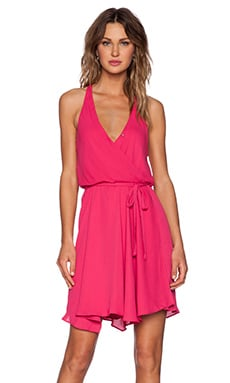 Eight Sixty Halter Dress in Passion Fruit