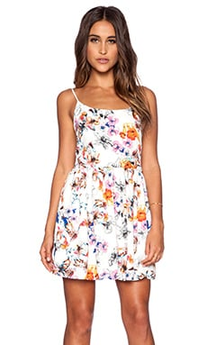 Eight Sixty Chelsea Floral Fit & Flare Dress in Multi