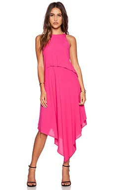 Eight Sixty Asymmetric Dress in Summer Berry