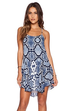 Eight Sixty Monte Python Dress in Indigo