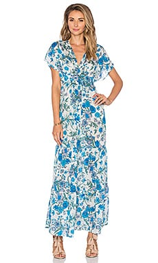 Eight Sixty Jenny Hutt Maxi Dress in Blue