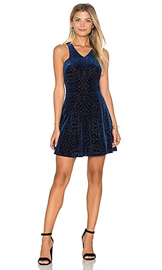 Sleeveless Mini Dress in Navy