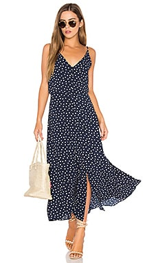 Polka Dot Dress in Bubble Crepe Dot