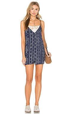 Eight Sixty Matador Romper in Indigo