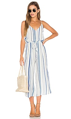 Stripe Jumpsuit in Bondai Stripe